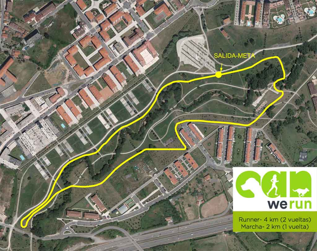 Recorrido Can We Run Gijon
